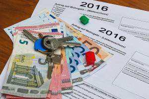 Wohnegelderhöhung 2016 Wohngeld Antrag Wohngeldantrag Geld Schlüssel
